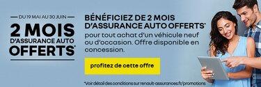 Offres Renault - Deux mois d'assurances offerts