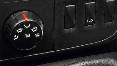 Renault MASTER Camping-Car - Levier de vitesses et bouton mode ECO