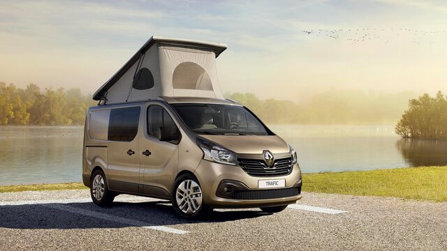 Trafic camping car occasion