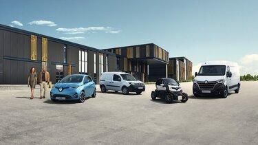Notre gamme de voitures électriques