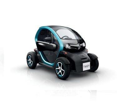 Twizy, le quadricycle électrique astucieux