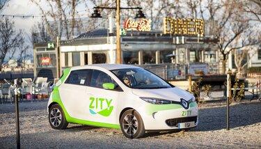 Renault - Zity : autopartage à Madrid