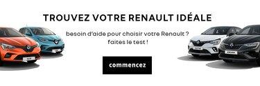Besoin d'aide pour choisir votre Renault ? Faites le test !