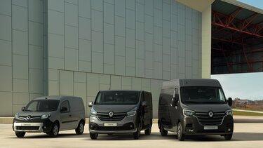 La gamme professionnels Renault
