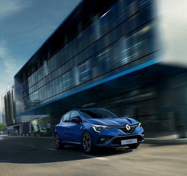 CLIO hybride -teinte bleue