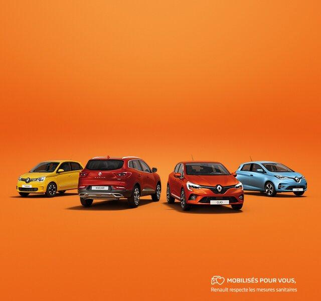 VEntes Flash gammes Renault