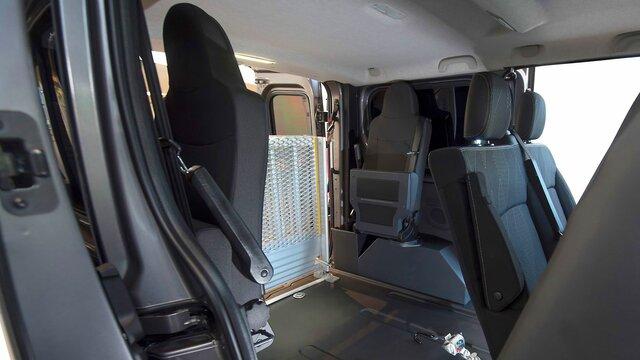 Trafic TPMR - siège rabattable