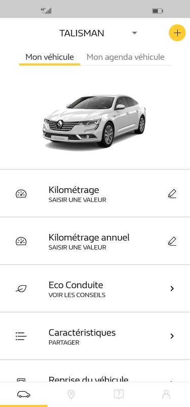 MY Renault - application