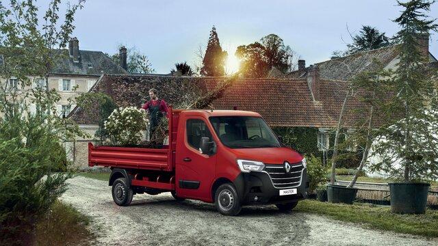 Renault Master Benne simple cabine
