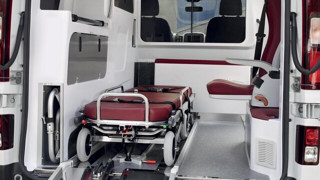 Renault Trafic - version ambulance