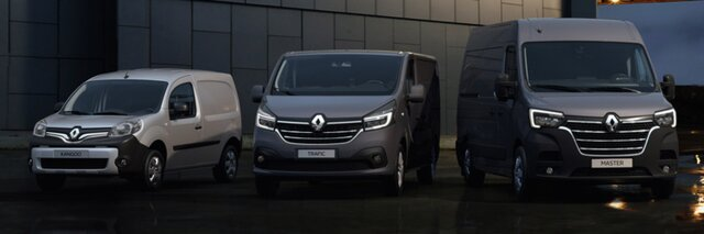 Gamme véhicules utilitaires Renault