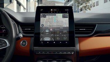 Renault CAPTUR intérieur, tableau de bord
