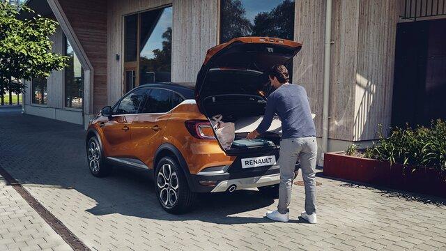 Renault CAPTUR intérieur orange