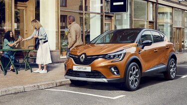 Renault CAPTUR, design extérieur orange