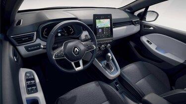 Nouvelle CLIO Edition Limitée E-TECH, intérieur tableau de bord