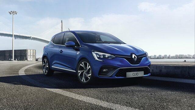 Renault CLIO E-TECH Hybride - freinage automatique d'urgence