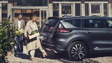 Renault ESPACE carte, hayon motorisé
