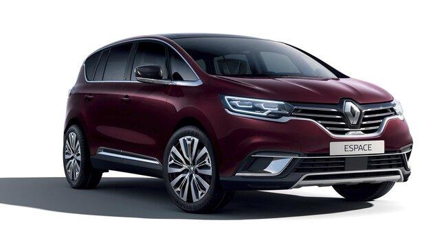 Renault ESPACE INITIALE PARIS face 3/4 arrière