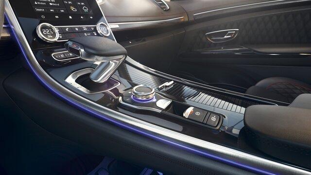 Nouveau Renault ESPACE, intérieur levier de vistesse