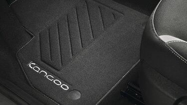 accessorypart Tapis de Coffre pour Renault Kangoo Combi 2017-2020 Noir