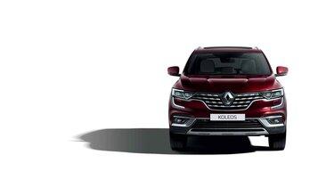 Renault KOLEOS face avant bordeau
