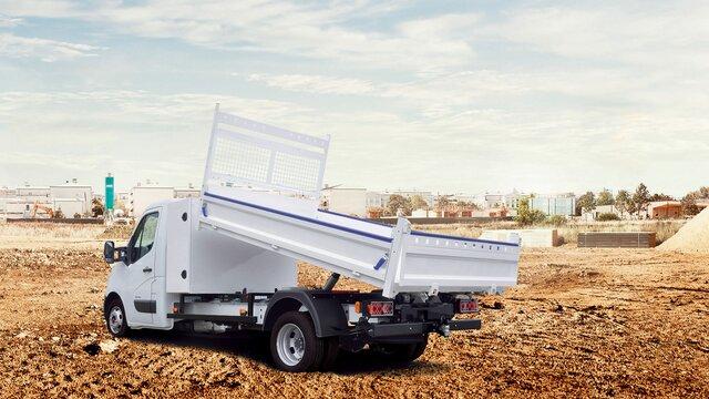 Renault Master benne coffre - Offre Renault Pro Plus