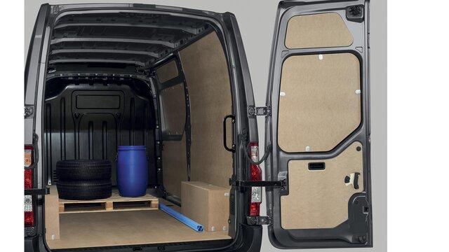 Renault Master - Protection latérale intérieure bois