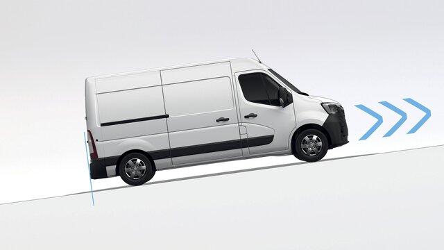 Renault Master - Aide au démarrage en côte