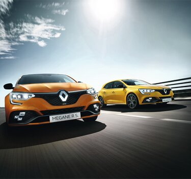 MEGANE R.S. voiture sportive