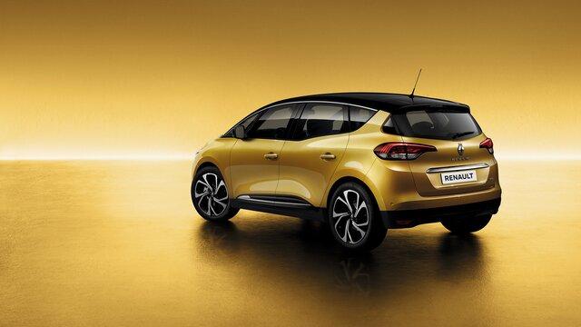 Renault SCENIC jaune