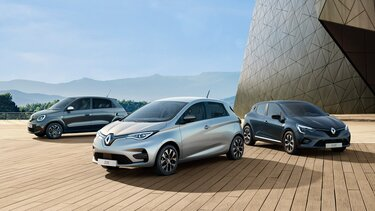 Renault Série Limitée Limited, gamme complète