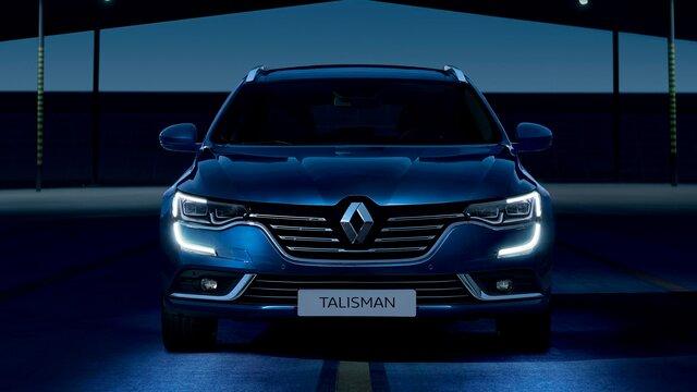Renault TALISMAN Estate face avant, feux