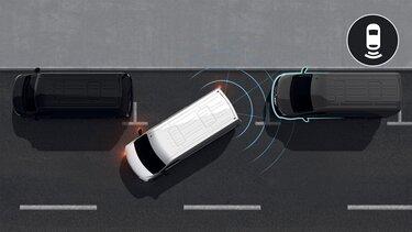 Renault Master - Radar de recul