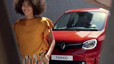 Nouvelle TWINGO Electric, couleur rouge
