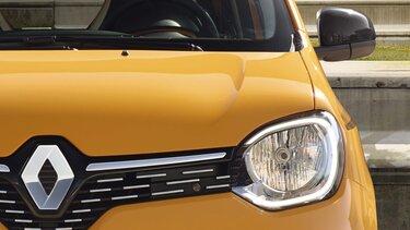 Renault TWINGO vue de haut de l'intérieur