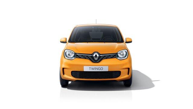 Renault TWINGO 3D jaune face avant