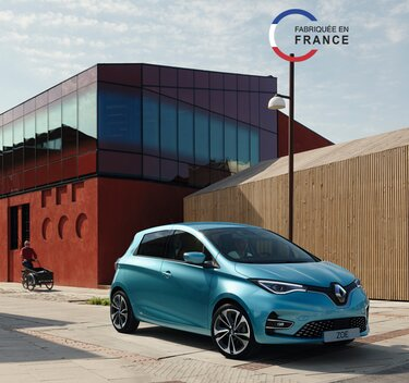 Renault Zoe E-Tech électrique - citadine
