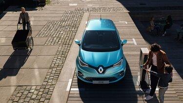 Renault ZOE - En charge