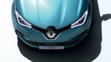 Renault ZOE - Focus calandre, phares et capot