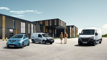 Renault gamme de véhicules