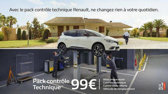 Pack COntrôle technque Renault