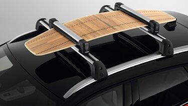 Renault CAPTUR- Porte-skis (4 paires) ou porte-surf (1 surf)