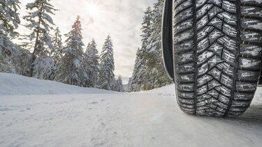Le pneu hiver, votre garantie sécurité pour l'hiver