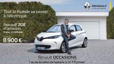 Renault Rent - Offre location de batterie 1€