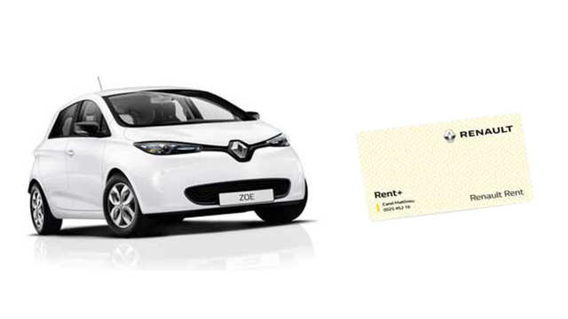 Renault Rent - Offre carte Renault Rent+ Liberty