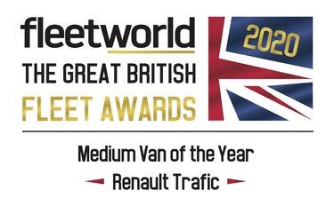 Renault TRAFIC Fleetworld Award 2020