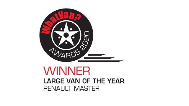 Renault Master Large Van of the Year - What Van? 2020