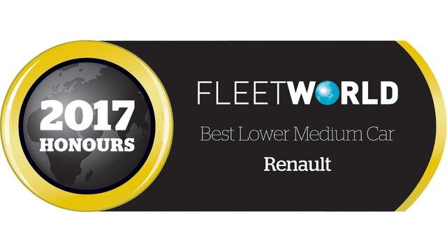 Best Lower Medium Car Fleet World 2017 Honours