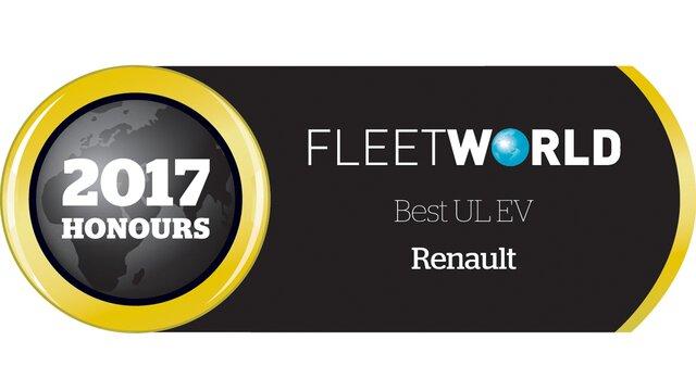 Best ULEV Fleet World 2017 Honours