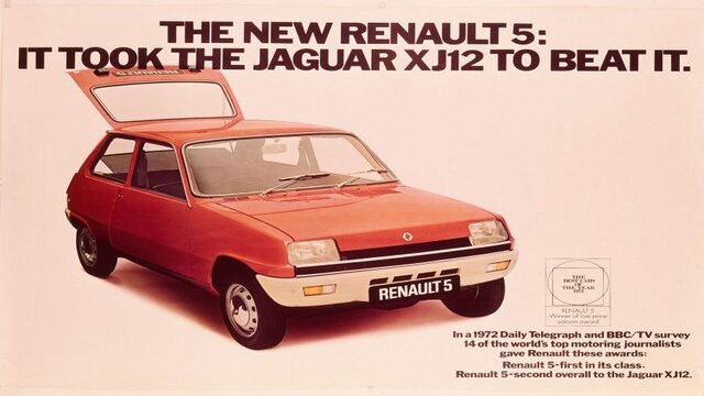 Renault 5 UK ad